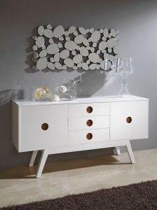 Para los que buscan un salón único, con personalidad y calidez, os recomendamos nuestra colección W-810 W-811 y TV-160.  #DugarHome #decoración #madera #hogar #salones #interiores #interiorismo