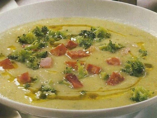 Sopa Cremosa de Brócolos