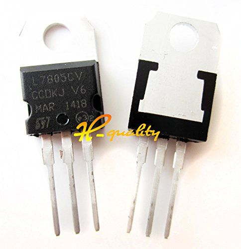 50pcs LM7805 L7805 7805 TO-220 Voltage Regulator IC new #Voltage #Regulator