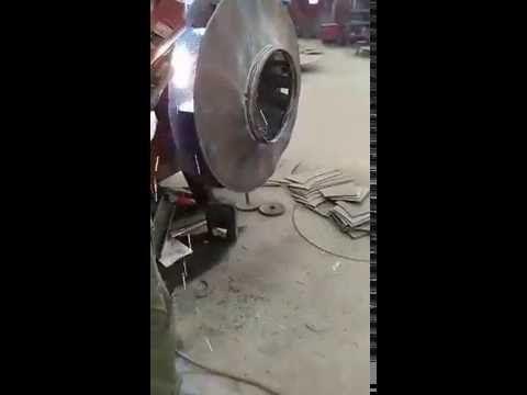 small impeller welding from Xianrun Blower factory