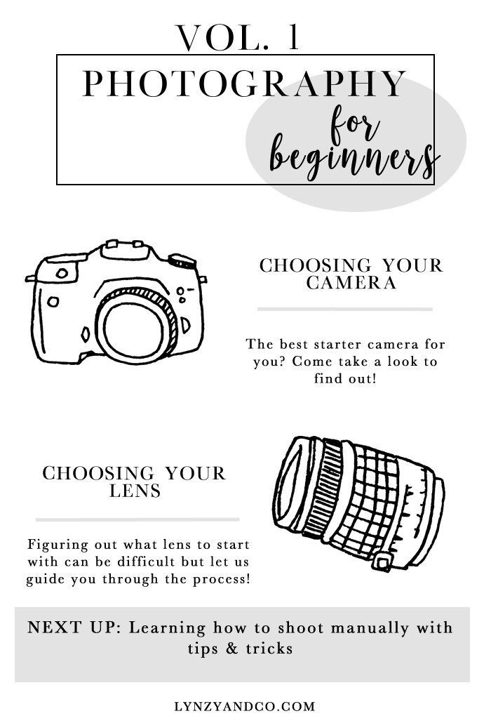 Photography for Beginners // An introduction on the best starter camera as well as the lenses that you may want to go along with it!