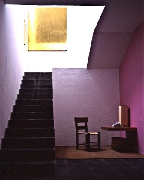 Luis Barragan: Colour, Architects Luis, Stairs, Mexico Cities, Interiors, Luis Barragan, Design Schools, Barragan Houses, Colors Inspiration