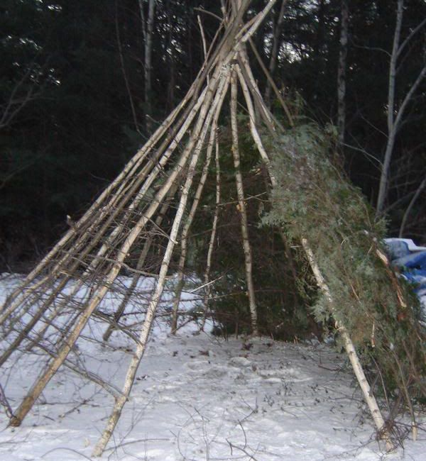 Wikiup - 5 Primitive Shelters That You Can Build