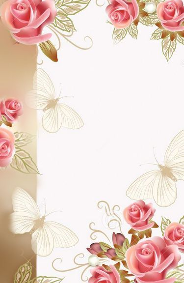 13 best Border Designs images on Pinterest Border design, Flower - greeting card template