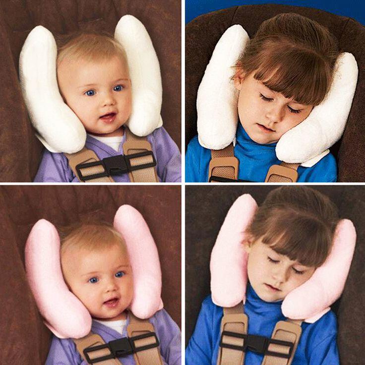 Otokit便利なクッション頭頸部用車のベビーバギーヘッドレストネックシートカバー赤ちゃんヘッドレストカバー漫画シートカバーおもちゃ