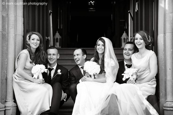 Bridal party portrait wedding photography donegal