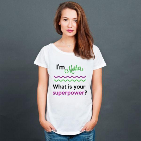 I'm Mother - koszulka damska oversize w artiglo na DaWanda.com
