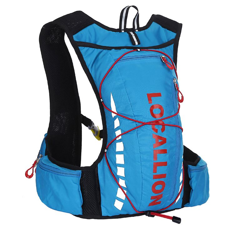Bicycle Backpack Bike Rucksack Packsack Road Cycling Bag Knapsack Riding Running Sport Backpack Ride Pack 10L 128