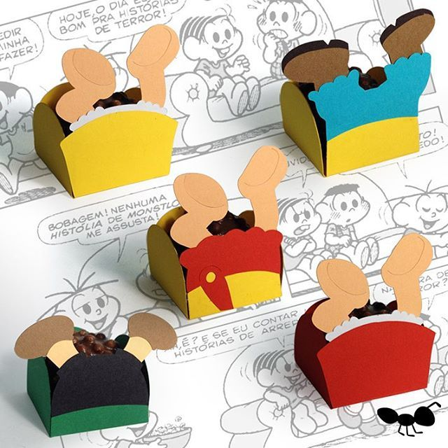 Pelo visto a Magali não é a única que adora doce!!! Coleção completa à venda no site: www.formigadep - formigadepapel