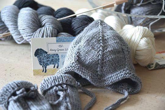 14. Rosy Green Wool GOTS-certificeret økologisk uldgarn fra Majbækken.