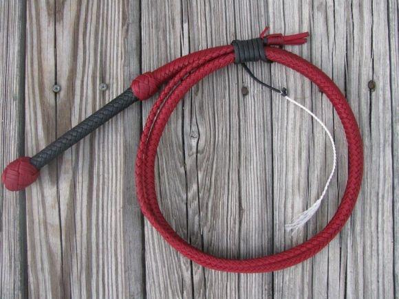 Nylon bull whip
