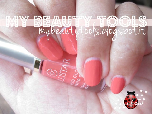 Collistar Gloss Nail Gel Effect no 541 Precious Coral