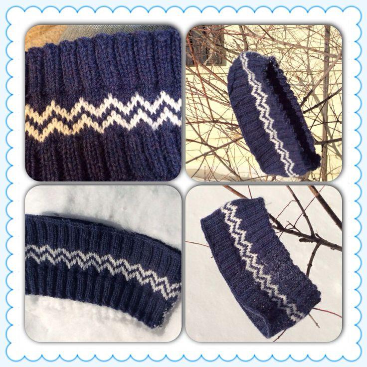 Nordic Headband Knitting Pattern : 1000+ bilder om Panneband pa Pinterest Fair Isles ...