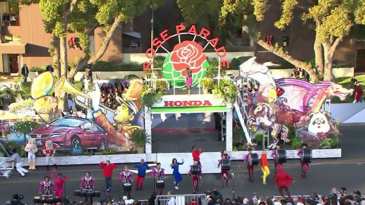 """KTLA's live-stream of the 129th Rose Parade Presented by Honda in Pasadena occurred on Monday, Jan. 1, 2018. It marked our 71st consecutive broadcast of the parade, which this year had the theme """"Making a Difference.""""  Our """"band cam,"""" a raw feed of the parade's bands, is below:"""