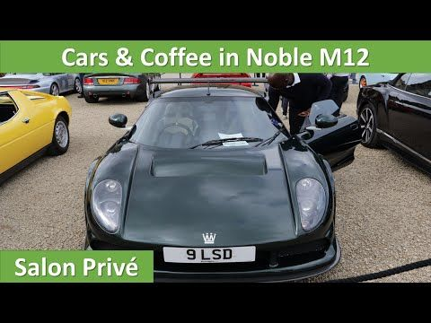 Cars and Coffee at Blenheim palace 2016 in a Noble M12 GTO 3R - An affordable supercar - salon prive - YouTube http://autopartstore.pro