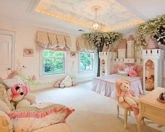 give the whole room a fairytale princess feel