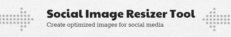 Handy Social Image Resizer / Gwefan defnyddiol i newid maint delweddau cymdeithasol #socmed
