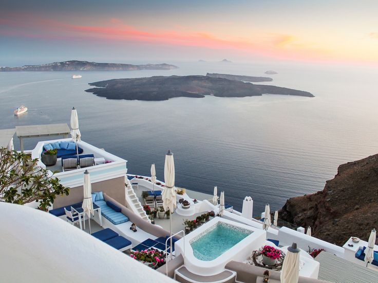 Welcome to the timeless haven of Iconic Santorini...