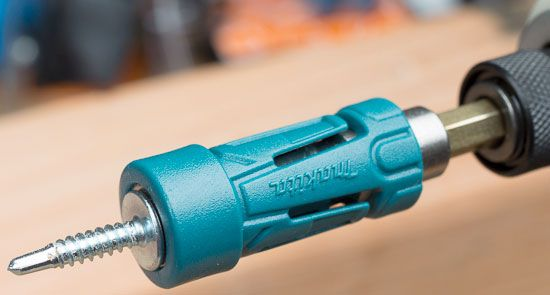 Makita Impact Gold Ultra Magnetic Bit Holder with Lathe Screw