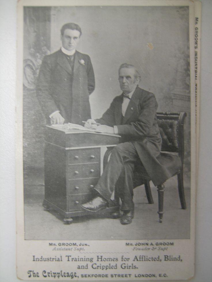 John Groom and son