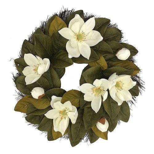 SONOMA Goods for Life™ Artificial Magnolia Flower Wreath