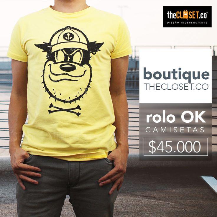 Nueva Colección de #camisetas de la marca Rolo-ok Camisetas en nuestra boutique TheCloset.co Store Ve por la tuya a la Cra. 7 # 54 a - 18 L-3 #DiseñoIndependiente #CompraColombiano