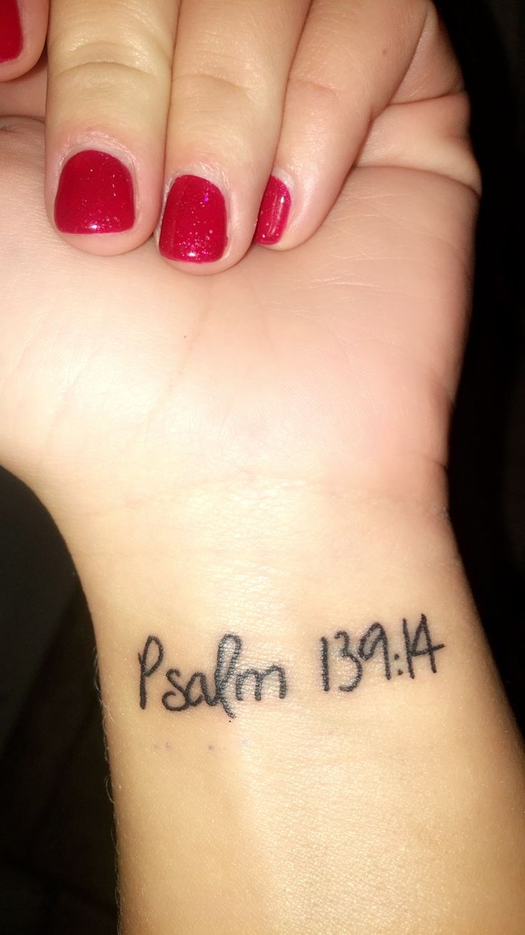 """Psalm 139:14  """"I praise you because I am fearfully and wonderfully made; your works are wonderful, I know that full well."""""""