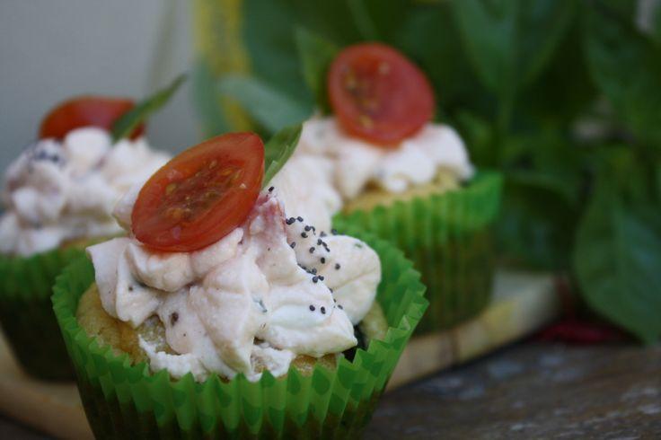 Cupcakes courgette ricotta