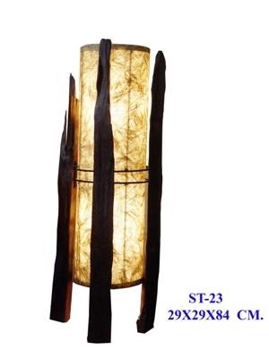 Reclaimed Teak Lamp ST 23  $199.95