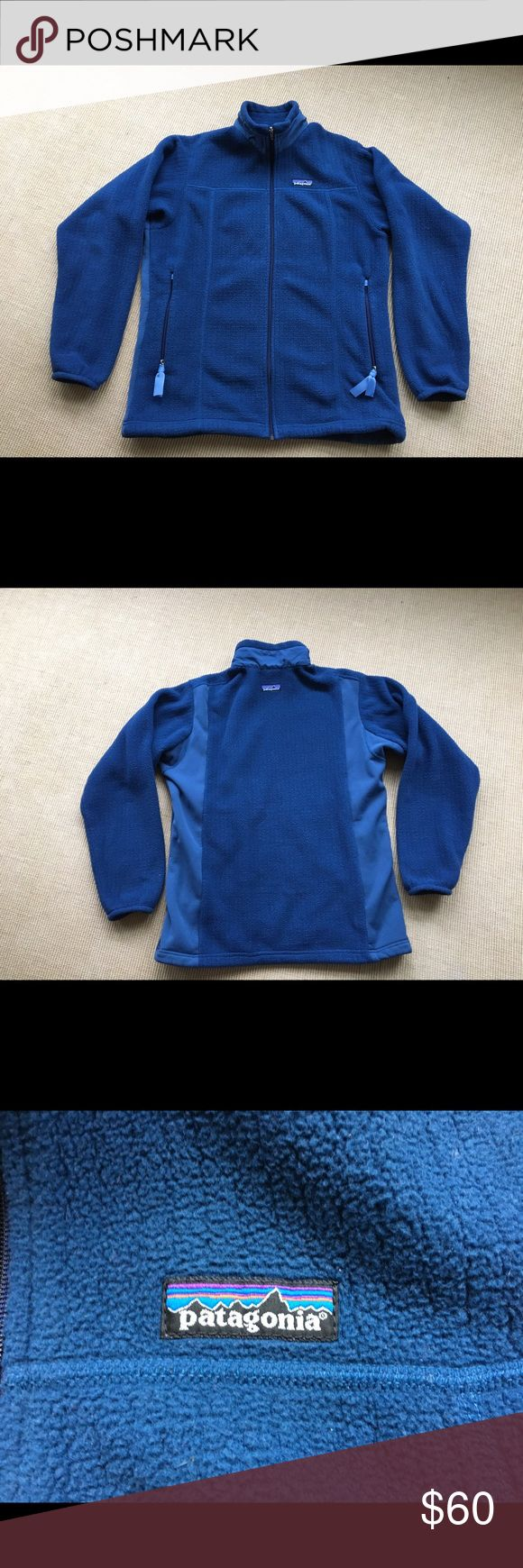 Patagonia Regulator Fleece Jacket Medium Patagonia Fleece Regulator jacket. Full zip. Nice,soft material. Blue in color. Logo on front and back. Women's Medium. Patagonia Jackets & Coats Utility Jackets