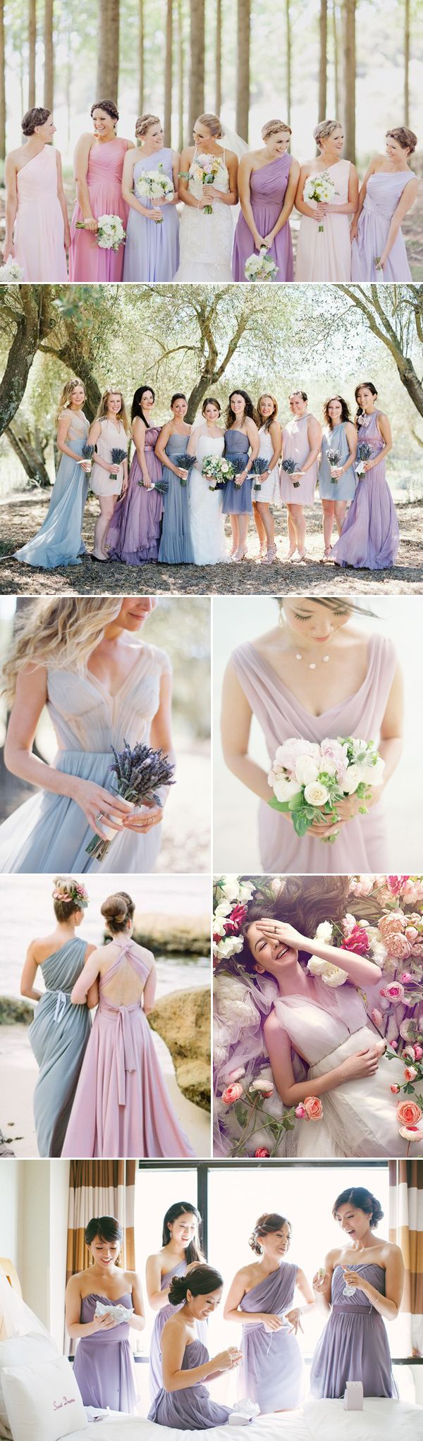 Top 8 Bridesmaid Dress Trends for Summer 2014 - Lavender