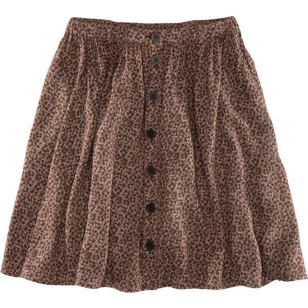 H&M Skirt ($23) ❤ liked on Polyvore featuring skirts, mini skirts, bottoms, gonne, h&m, women, short mini skirts, skater skirt, print skirt and h&m skirts