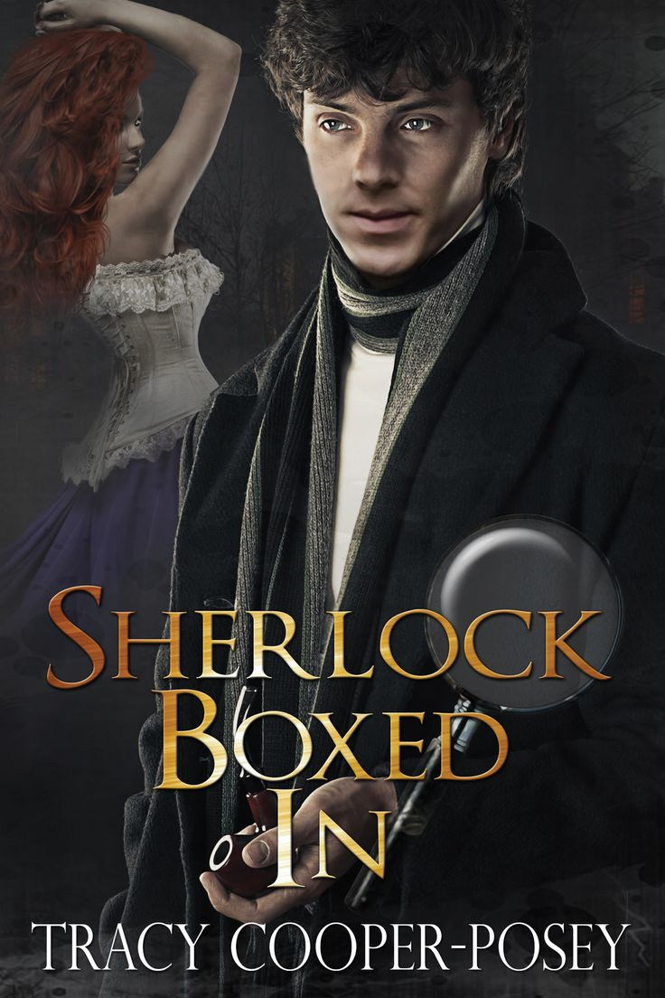 SHERLOCK BOXED IN - Complete series boxed set.  Sherlockian romantic mysteries.  http://tracycooperposey.com/sherlock-boxed-in/