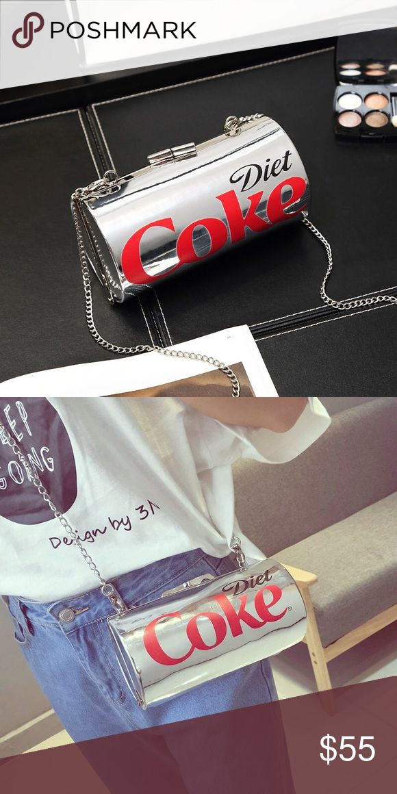 New Arrival Diet Soda Purse. Brand new diet soda purse with chain shoulder strap. Bags Shoulder Bags
