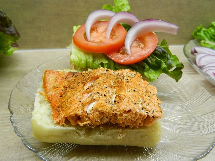 Spicy Chipotle Salmon Sliders | Books Worth Reading | Pinterest