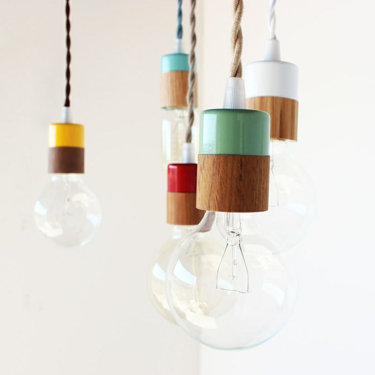 Two-toned pendant lamp by onefortythree