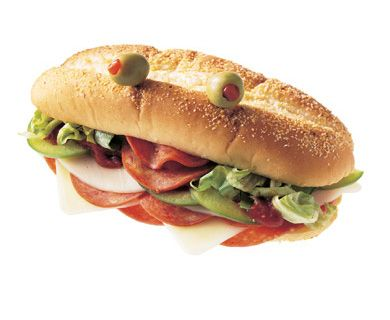 Dive into a Pizza Sub with Tre Stelle® Friulano and Provolone Cheese #sub #pizza