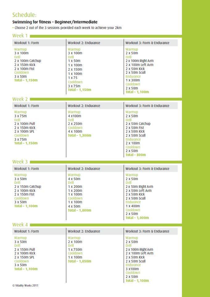 Swim Training Gym Workouts | Workout Everydayentropy.Com