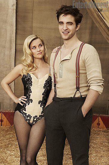 Reece witherspoon and Robert Pattinson ..Water for Elephants