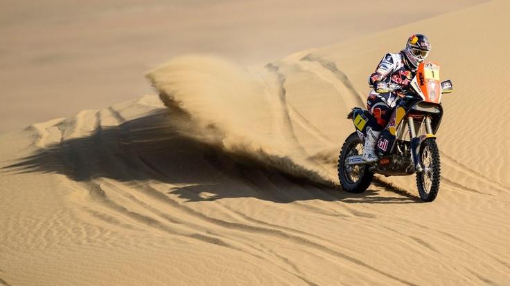 Cyril Despres se mantiene en control en el Dakar 2013