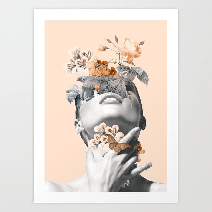 Inner Beauty4 By Dada22 Art Prints Art Cactus Wall Art