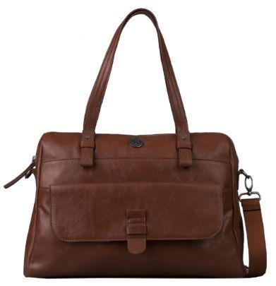 Brunotti Dark Brown Medium Carry All Bag BB4133-804. Available at £49.95