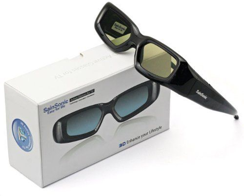 2 X SainSonic 3D Rechargeable Infrared Active Shutter Glasses For Panasonic 3D HDTVs by SainSonic. $56.99. This SainSonic SR-PA01 3D active shutter glasses is a cheaper alternative to  original Panasonic glasses. It fits most main-stream Panasonic 3DTVs with great  compatibility. No restriction on adults or kids by using the 3 nose pads comes  with package contents. Stylish design also fits your modern housing devices.  Just Watch your favorite movies in 3D with th...