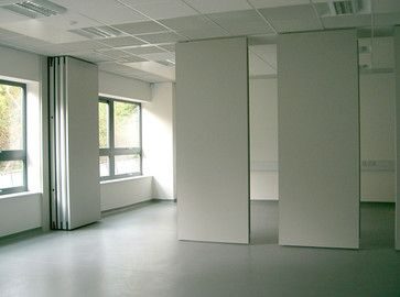 Stunning ALAFORM Bi Folding Door Show Room Modern Interior Doors