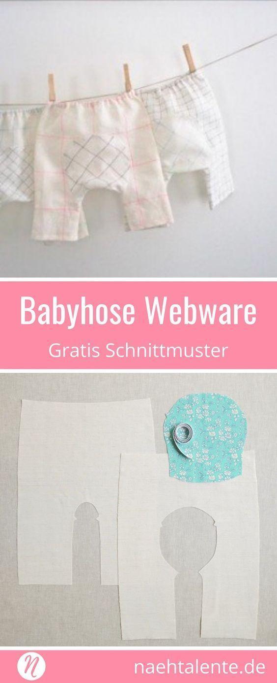 Baby-Hose aus Webware | vestiditos | Pinterest | Bebe, Patrones de ...