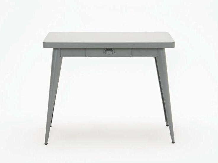 55 Table console by Tolix Steel Design design Jean Pauchard