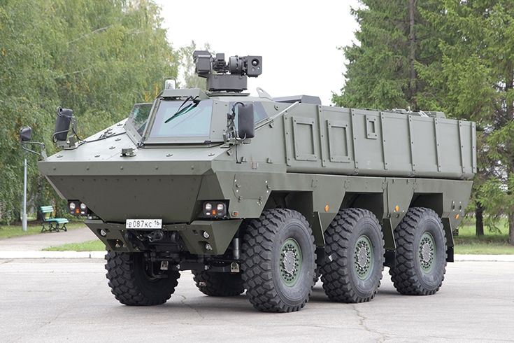 Russian new armored vehicle KAMAZ 63969 would be used by my military