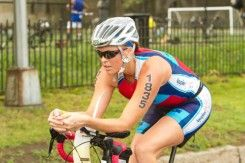 Tips and tricks that got softball star Jennie Finch through the 2013 NYC Triathlon