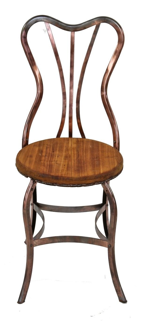 vtg 1940 50s simmons furniture metal medical. Remarkably Intact And Very Rare Early 20th Century Joseph Uhl-designed Pressed Form Copper-plated Steel Parlor Chair Vtg 1940 50s Simmons Furniture Metal Medical M