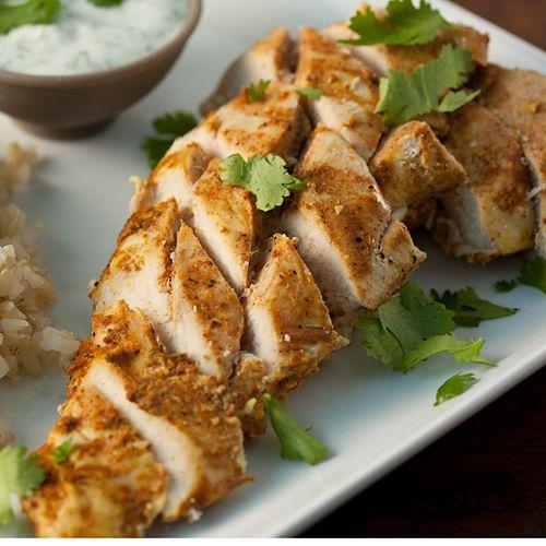 Slim & Spicy Tandoori Chicken - Clean Eating - Clean Eating